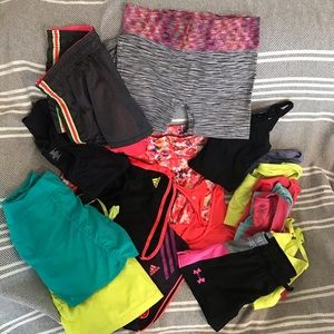 Massive workout Bundle- Adidas, Under Armour+more